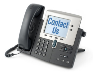 Contact Us by Phone